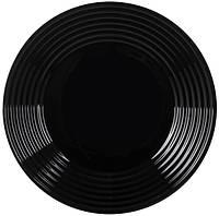 Тарелка LUMINARC HARENA BLACK 250 мм. обеденная (L7611)
