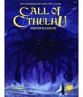 Зов Ктулху Книга хранителя  (7 издание) (Call of Cthulhu 7th Edition Keeper's Rulebook) настольная игра