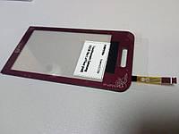 Тачскрин (сенсор) для Samsung S5230 La Fleur (Red) Качество