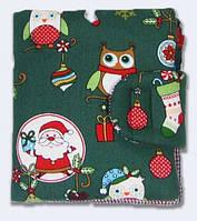 Новогодний зеленый кошелек от TwinsStore, К18