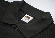 Мужское Поло Премиум Fruit of the loom Cветлый графит 63-218-GL S , фото 2