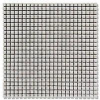 Мраморная мозаика МКР-1С (старенная/валтованная) 10*10*6 Victoria Beige