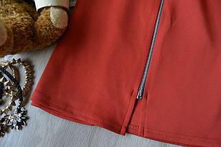 Новая юбка а-силуэта с молнией Boohoo, фото 3