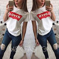 Женская стильная футболка Levi*s (2 цвета)