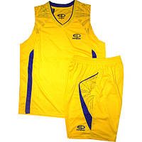 Баскетбольная форма Ewropaw желто-фиолетовая