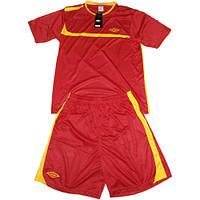 Футбольная форма Umbro красная