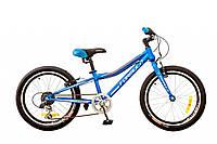 """Велосипед 20"""" Formula LIME 14G Vbr рама-10"""" St синий 2017"""