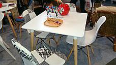 Обеденный стол в скандинавском стиле квадратный  Z-208 NOLAN II  Евродом, цвет белый, фото 2