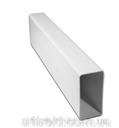Воздуховод плоский, Короб вентиляционный  55х110х500мм