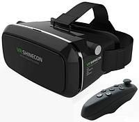 Shinecon VR 3D Glasses очки шлем гарнитура для телефона виртуальной реальности пульт
