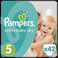 PAMPERS Детские подгузники Active Baby-Dry Junior (11-18 кг) Упаковка 42