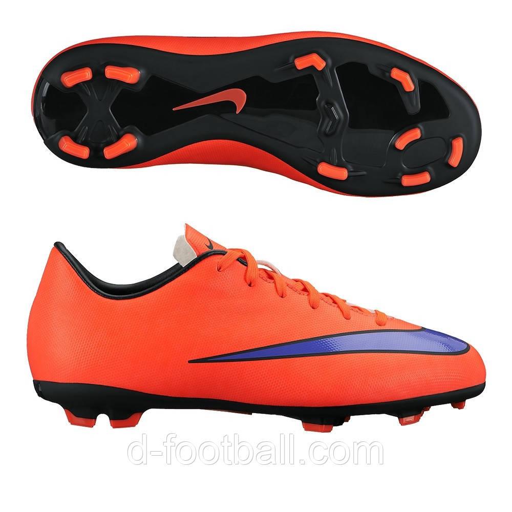 Детские футбольные бутсы Nike Mercurial Victory V FG - 650 купить ... 3329ca8d535