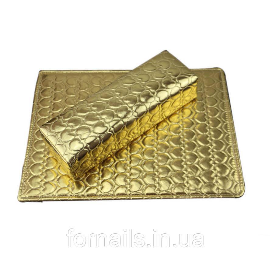 Подлокотник+коврик, золото