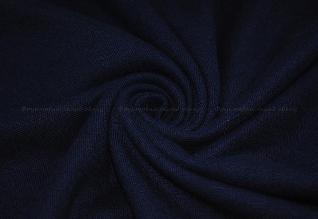 Глубоко тёмно-синее мужское поло 100% хлопок