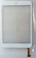 Оригинальный тачскрин / сенсор (сенсорное стекло) для Crown B855   B899 (белый цвет, самоклейка)