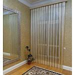 Идеи оформления интерьера шторами-нитями