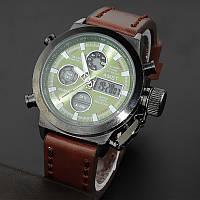 Армейские наручные часы AMST: AM 3003 Black-Green