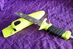 Нож для подводных работы ,сталь 440с,крепкий клинок