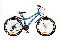 """Велосипед 24"""" Formula FOREST AM 14G Vbr рама-12,5"""" синий с крылом Pl-EF500 2017"""