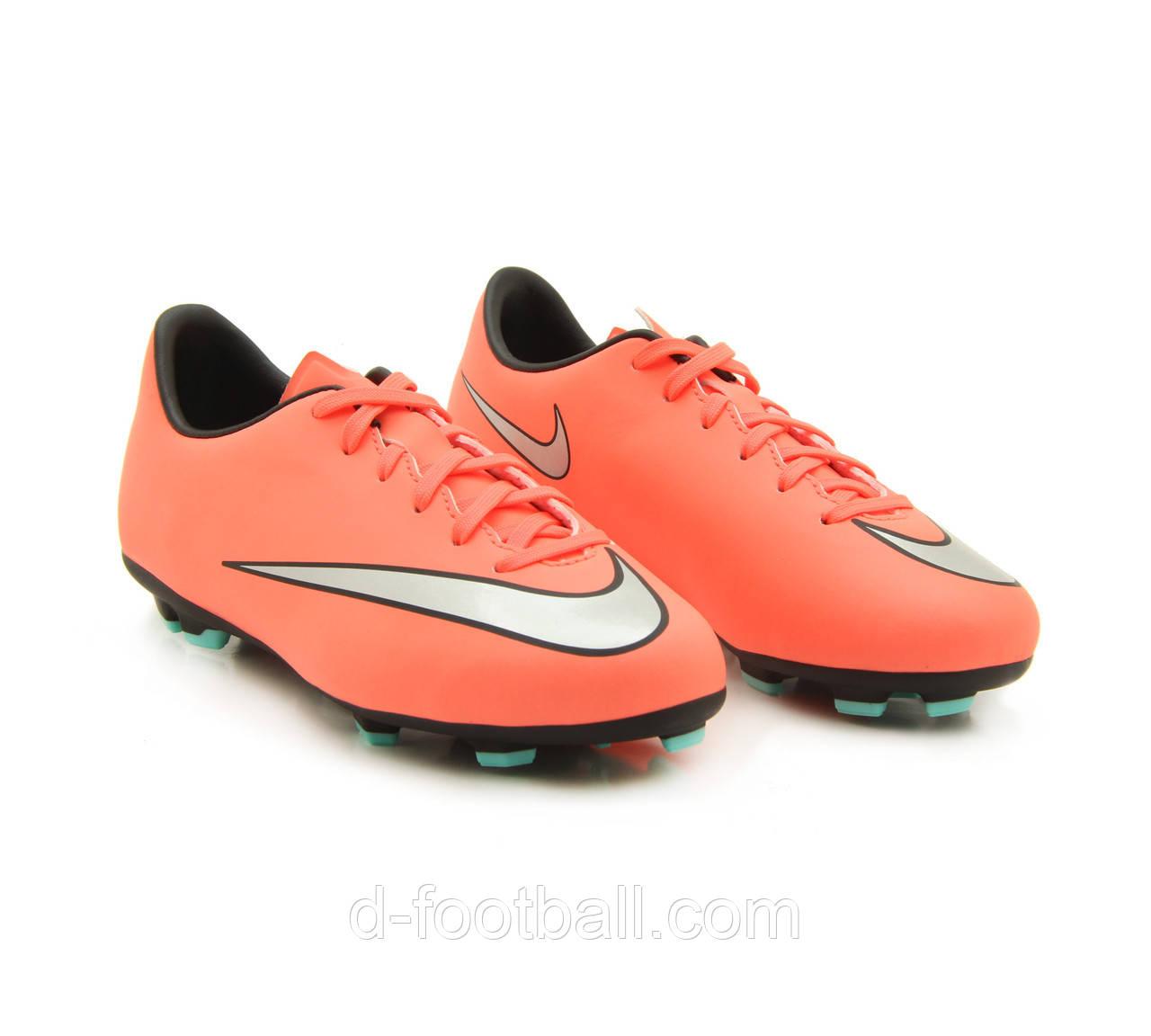 Детские футбольные бутсы Nike Mercurial Victory V FG 651634-803 JR -  Интернет-магазин 888d1eef705