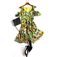 Яркое летнее платье