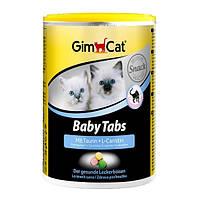 GimCat BabyTabs mit Taurin und L-Carnitin комплекс витаминов для здорового развития котят, 85г