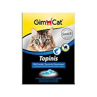 GimCat Topinis mit Trout, Taurin und Vitaminen лакомство для кошек в виде мышек с форелью, таурином и витаминами, 220г