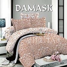 Комплект постельного белья Вилюта поплин Дамаск 001 евро
