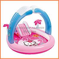 Детский надувной центр Intex 57137 «Hello Kitty»