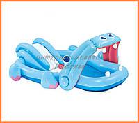 Водный надувной игровой центр Intex 57150 | Hippo Play Center (221x188x86 см)