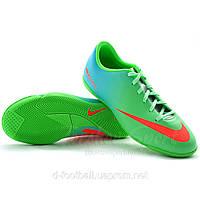 Детская футбольная обувь для зала Nike Mercurial IC US-6Y / Укр-38 / EU-38.5 / 24 см