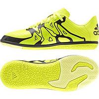 Футбольная детская обувь для игры в зале (футзалки) Adidas X 15.3 IN