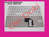 Клавиатура для ноутбука HP Pavilion G6-2127sr без рамки