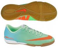 Футбольные бутсы детские для зала Nike Mercurial Vortex IC 573870-380 US-5.5Y / Укр-37 / EU-38 / 24 см