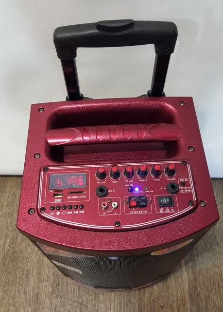Колонка с аккумулятором и Bluetooth Temeisheng A -71