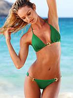 Купальники копии Victoria's Secret с цепочкой, зеленый