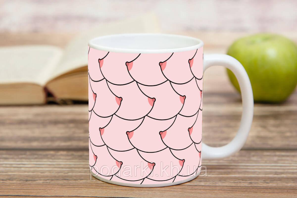 Оригинальная чашка с пикантным рисунком
