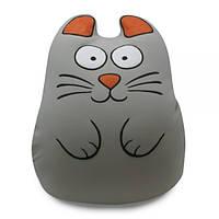 Мягкая игрушка-антистресс «Ручной кот», серый