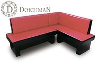 """Стильный угловой диван для кухни с выдвижными ящиками """"Дойчман"""", фото 1"""