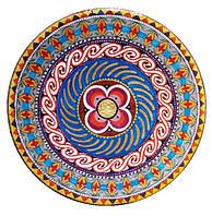 """Декоративная тарелка диаметром 42 см """"Вічна Україна. Трипільский орнамент"""" трипольской глины станет изысканным"""