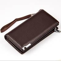Клатч портмоне мужской Baellerry PA404Br темно-коричневый