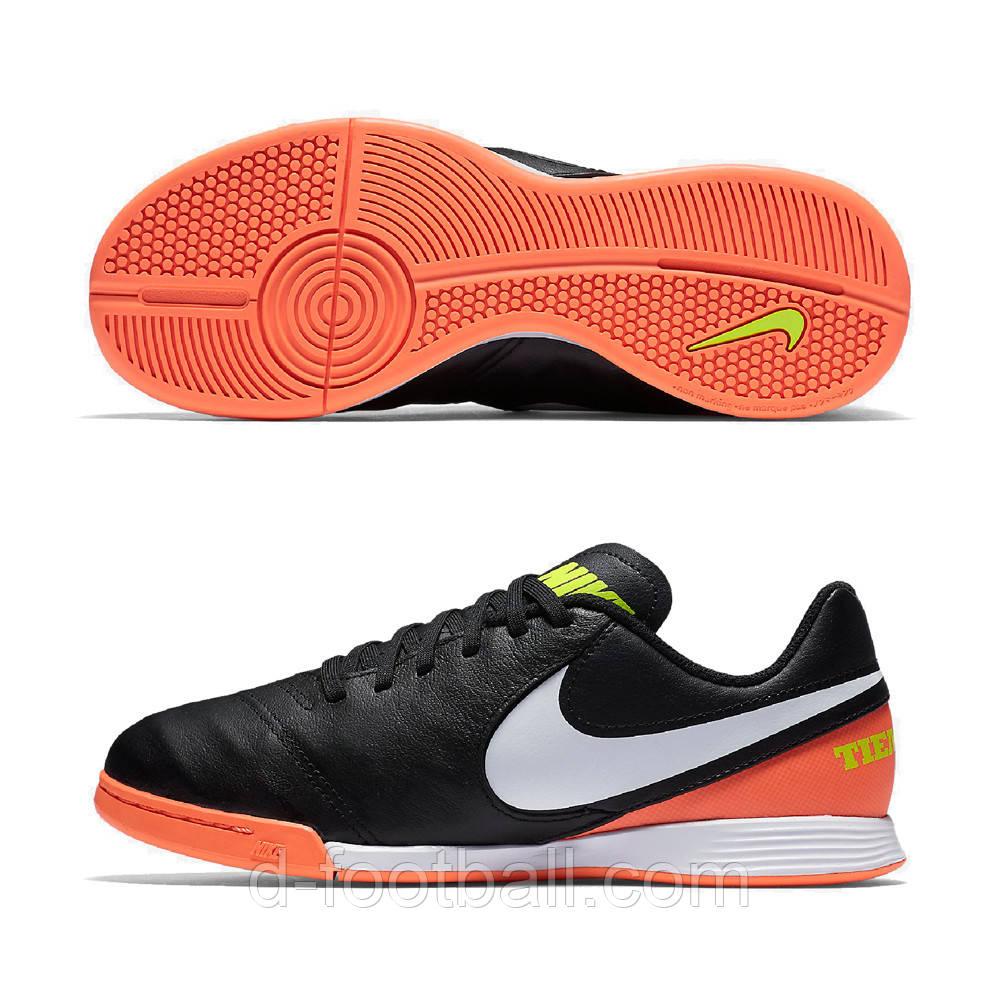 Детские футзалки Nike JR Tiempox Legend IC 819190-018 купить, цена в ... ae49f7451b6