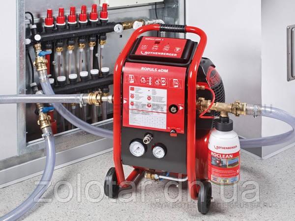 Прочищення і промивання систем опалення