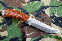 """Нож охотничий """"коготь """" из стали 440с+кожаный чехол"""
