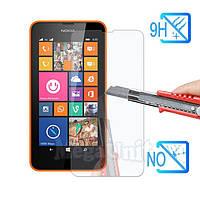 Защитное стекло для экрана Microsoft (Nokia) Lumia 630 твердость 9H, 2.5D (tempered glass)