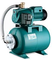 Насосная станция бытового водоснабжения 0,75 кВт H 46 м Q 90 л / мин бак 24 л Aquatica