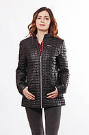 Стильная черная куртка Саша 2-К  44-68 размеры