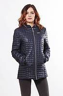 Стильная темно-синяя куртка Саша 2-К 44-68 размеры