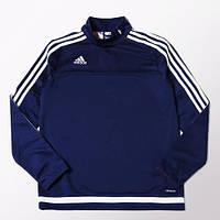 Джемпер детский спортивный тренировочный Adidas Tiro 15 (Синий)