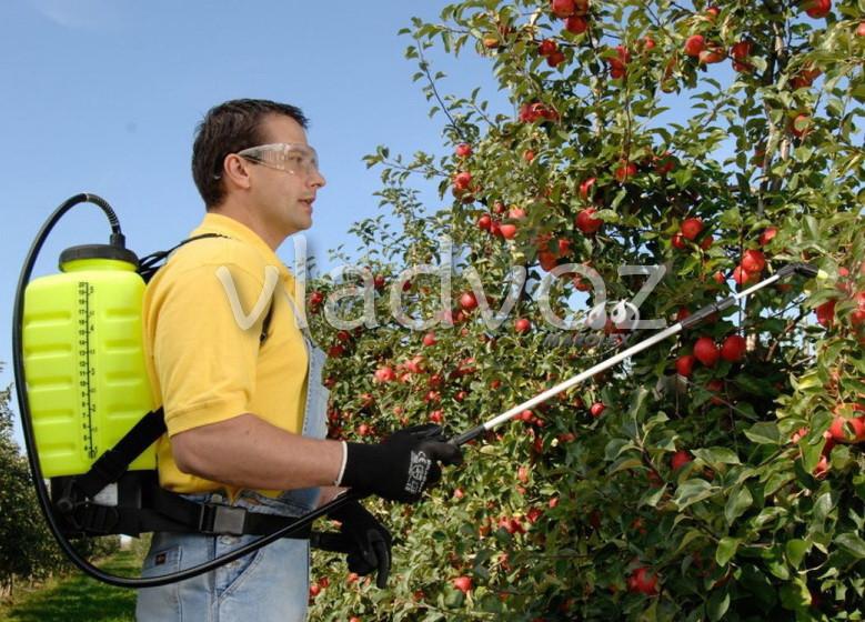 опрыскиватель садовый ручной распылитель ранцевый Marolex на 20 литров TITAN